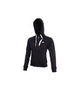 The North Face Women's Junipet Full Zip Hoodie tnf black